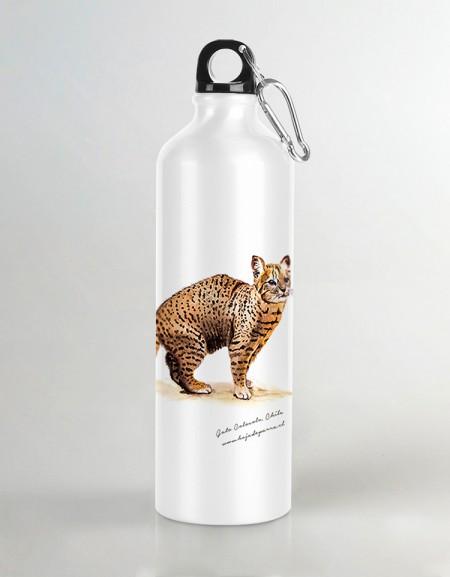 Botella de agua Pudu