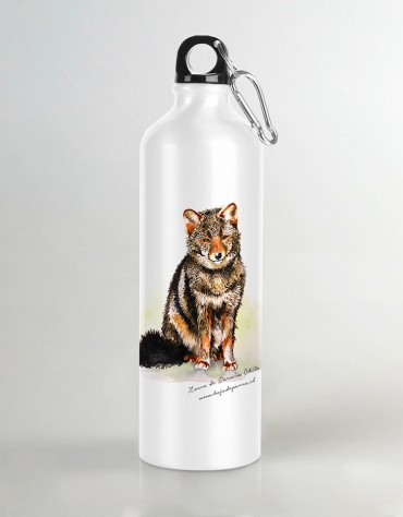 Botella de agua Zorrito de Darwin